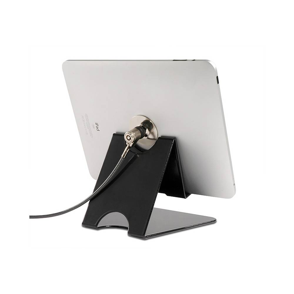 SecuPaddock - universele tablet steun met kabelslot