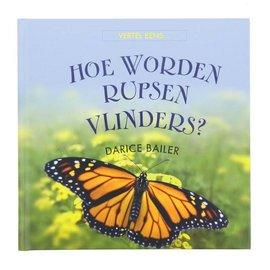 Hoe worden rupsen vlinders