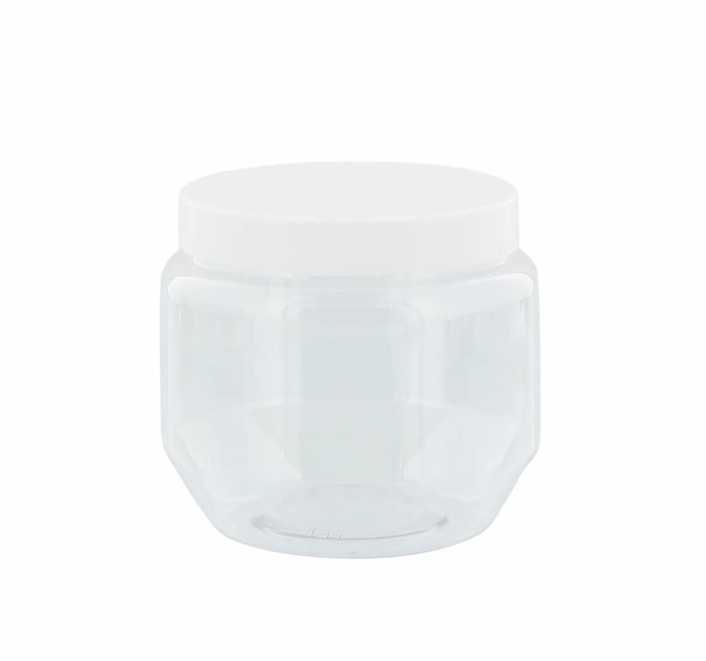 Pot Met Deksel.Pet Pot Glashelder Met Deksel 250 Ml Ivn Winkel