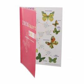 IVN Zoekkaart vlinders geplastificeerd
