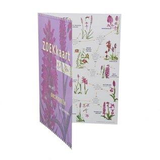 IVN Zoekkaart Orchideeën geplastificeerd