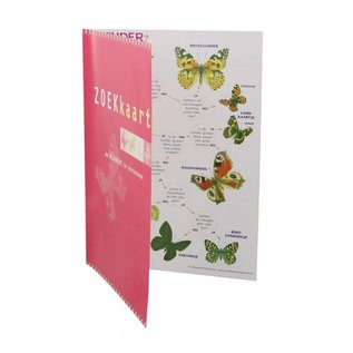 IVN Zoekkaart vlinders