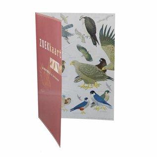 Zoekkaart roofvogels geplastificeerd