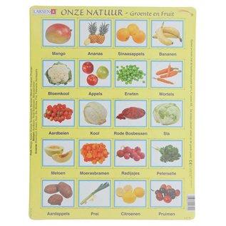 Larsen Puzzel  Onze Natuur - Groente en fruit