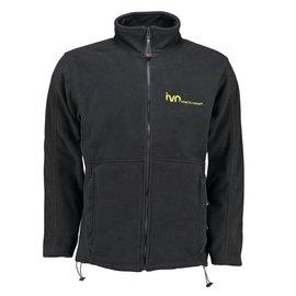 IVN Fleece jack Zwart XL