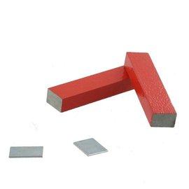 Dubbele staafmagneet klein model