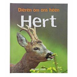 handpop hert + boek