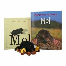 Handpop mol + boek