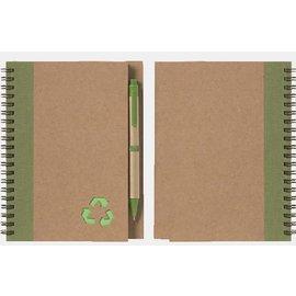 Gastheer van het Landschap notitieboekje met pen