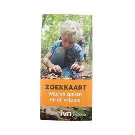 IVN zoekkaart Wild en sporen op de Veluwe