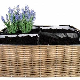 Opvouwbare vierkante tuin