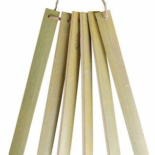 Bamboe Plantenlabel per set