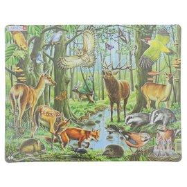 Puzzel Dieren van het Bos