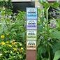 Bordje: De Amfibie vriendelijke tuin