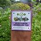 Bordje: De Wilde planten vriendelijke tuin