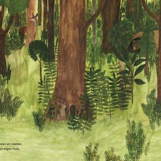 In het bos - prentenboek