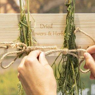 Esschert Design Bloemen- en kruidendroogrek (met touw)