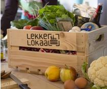Kistje Lokaal met producten van gecertificeerde telers