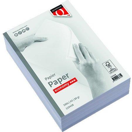 Quantore Kopieerpapier  Economy A5 80gr wit 500vel