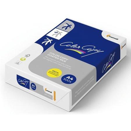 Color copy Laserpapier coated silk A4 200gr wit 250vel