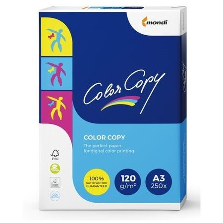 Color copy Laserpapier A3 120gr wit 250vel