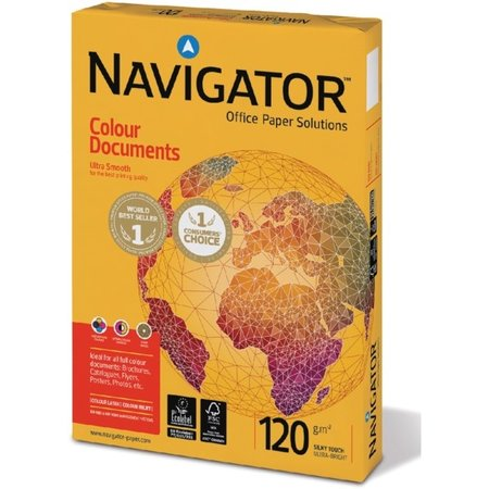 Navigator Kopieerpapieer Colour Documents A4 120gr wit 250vel