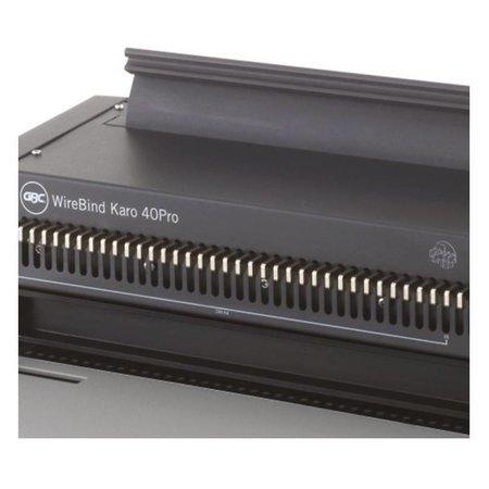 GBC Inbindmachine Wirebind Karo 40pro voor 34rings draadruggen