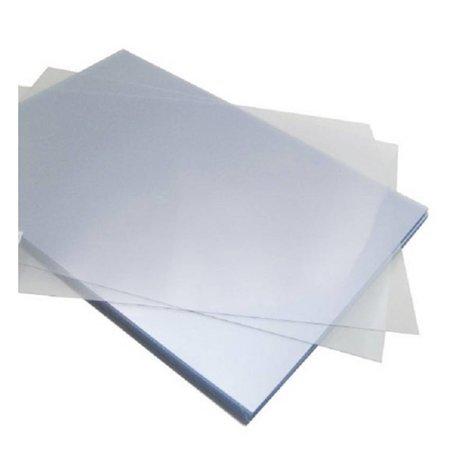 GBC voorblad A4 PVC 300micron transparant