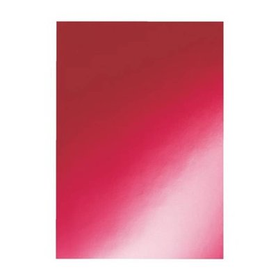 GBC voorblad A4 karton higloss 250gr rood