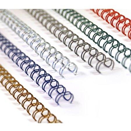 Huismerk wire-o draadbindrug 3:1 metaal 4,8mm 34rings A4