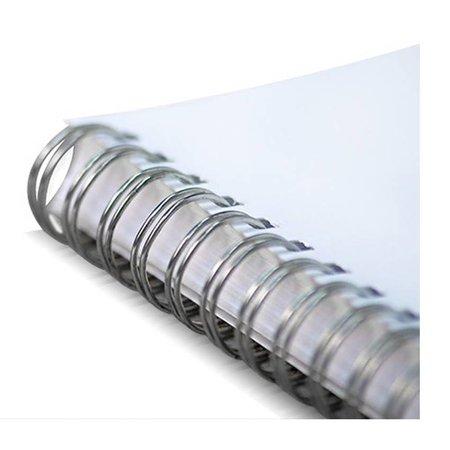 Huismerk wire-o draadbindrug 3:1 Metaal 11,1mm 34rings A4