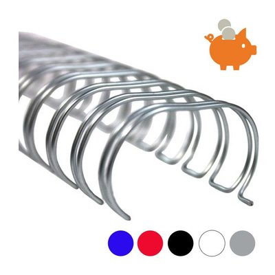 Huismerk 11,1mm wire-o draadbindrug 3:1