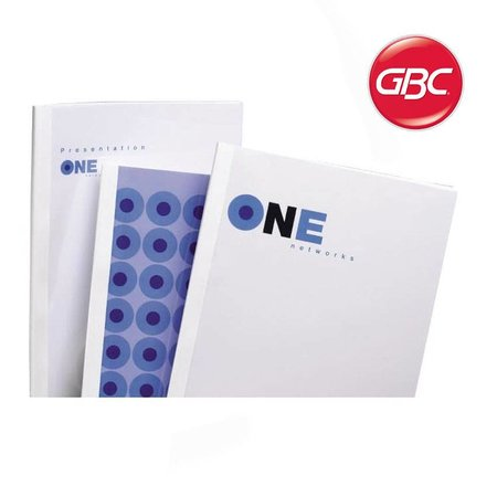 GBC thermische omslag optimal a4 4mm transp/wit