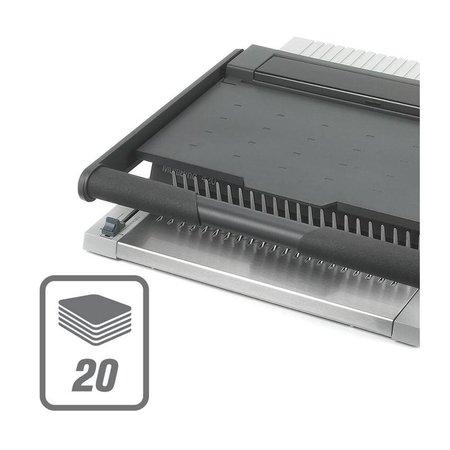 GBC Inbindmachine Multibind 420 voor 21rings en 34rings bindruggen
