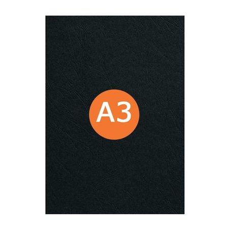 Huismerk Voorblad Pvc A3 0.30 100St. Zwart
