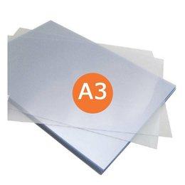 Huismerk Voorblad A3 Transparant 300micron