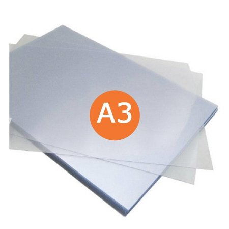 Huismerk Voorblad A3 PVC A3 mat/transparant 280micron 100stuks