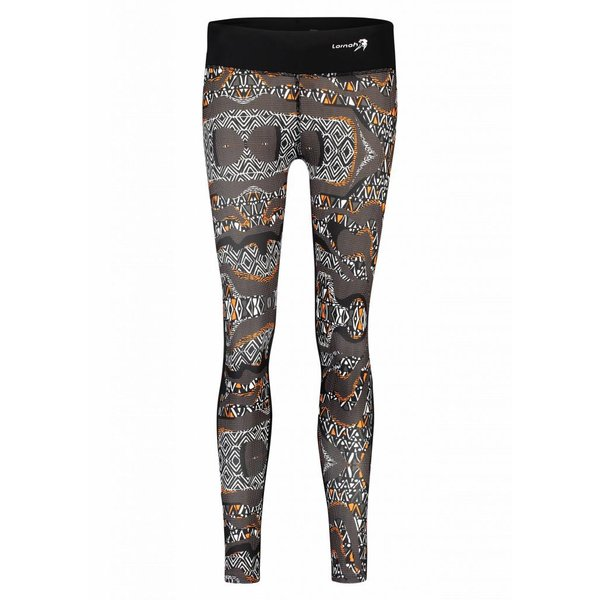 HALISA long tight zwart/melon