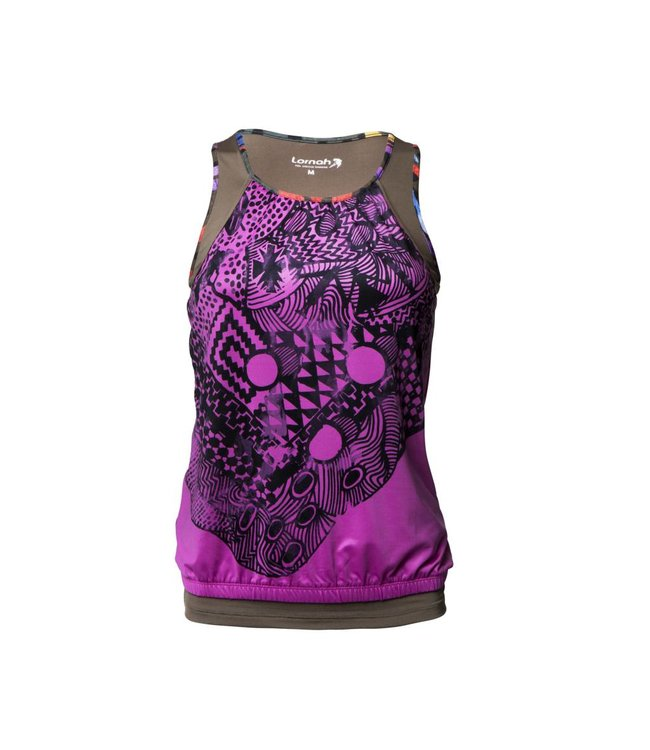 Corrigerende Sportlegging.Zahra Tank Top Roze Lornah Sports