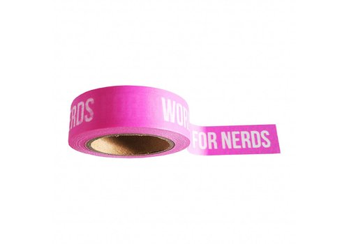 Studio Stationery Washi tape Words are for nerds
