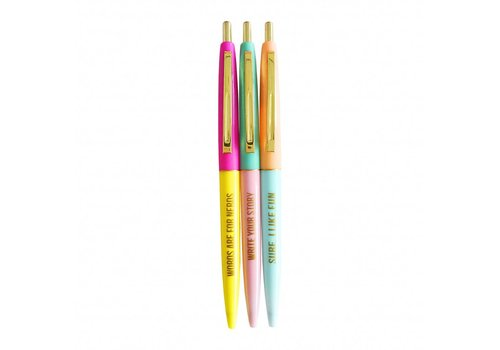 Studio Stationery Very fun Ballpen set