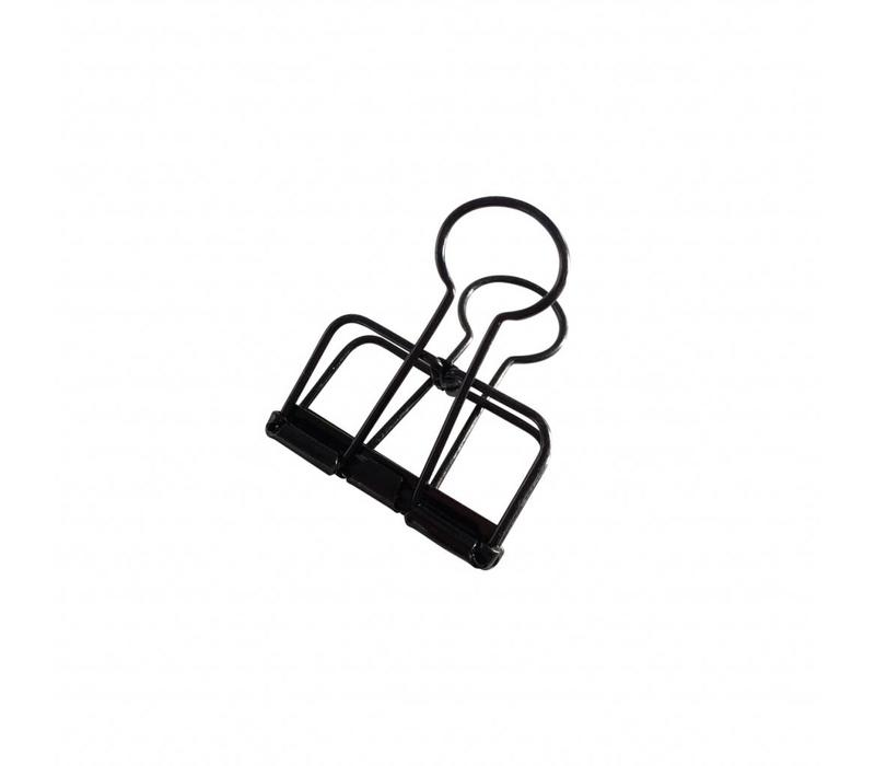 Binder clips Black M