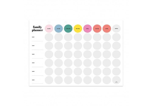 Studio Stationery One big family planner