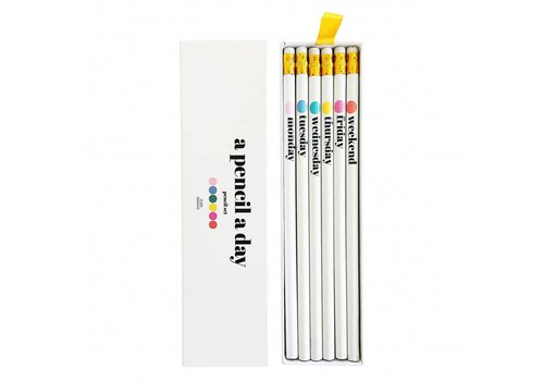 Studio Stationery A pencil a day Pencil set