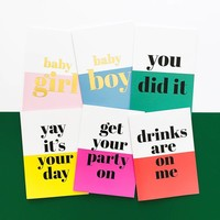 Greeting card Drinks are on me