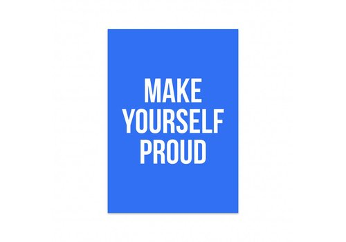 Studio Stationery Kaart Make yourself proud