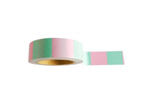 Studio Stationery Washi tape Mint pink