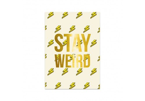 Studio Stationery Kaart Lightning