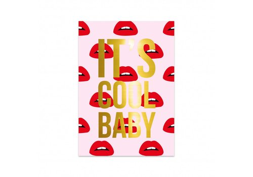 Studio Stationery Kaart Lips