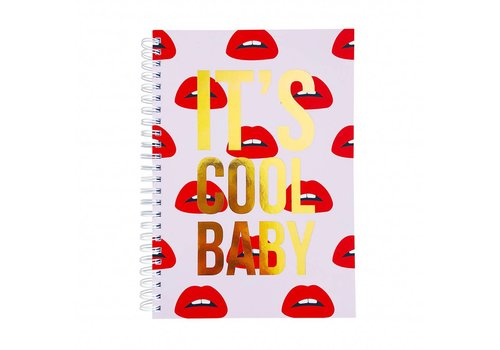 Studio Stationery Notebook It's cool baby